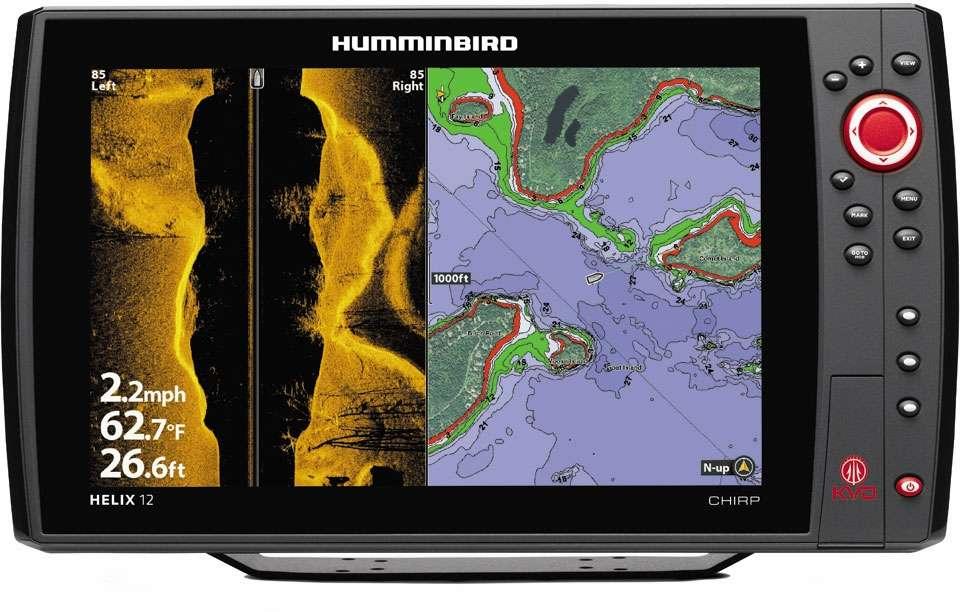 Краткий обзор эхолотов Humminbird