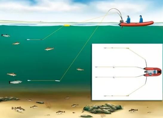 Основы троллинговой рыбалки
