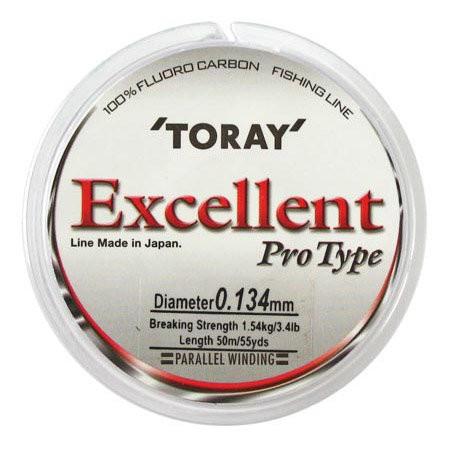 Обзор и тест лески Toray Excellent Pro Type