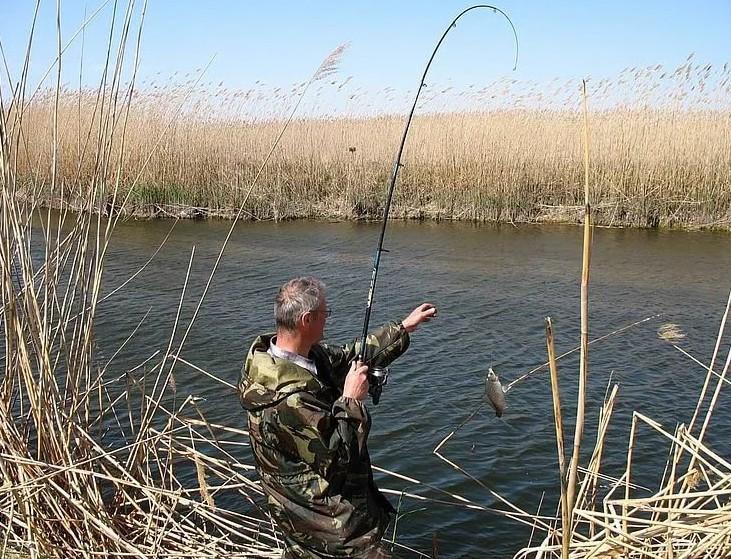 Рыбалка в Астраханской области в апреле