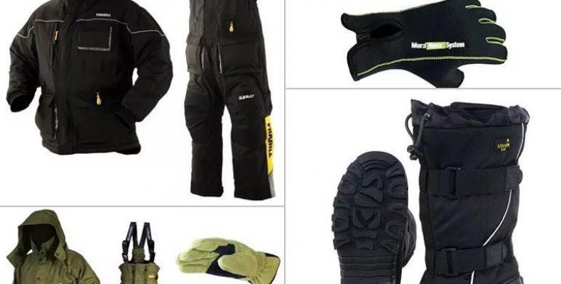 Как выбрать одежду для зимней рыбалки