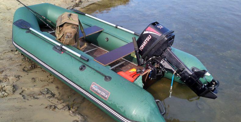 Муки выбора водомоторника. Tohatsu M9.8BS + Хантер 320ЛК