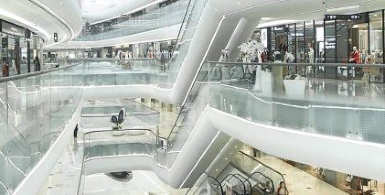 Поддержание чистоты —  для торгового центра