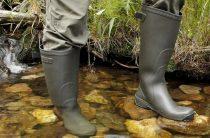 Как выбрать резиновые сапоги для рыбалки?